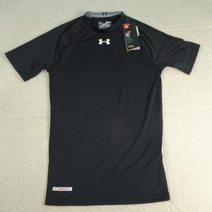 NWT Under Armour Compression Black Heat Gear Med